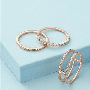 Stella and Dot Imperial Stacking Ring